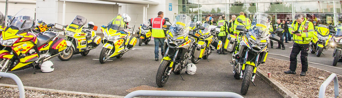 A vital cause: Local Honda dealer supports Blood Bikes Banner