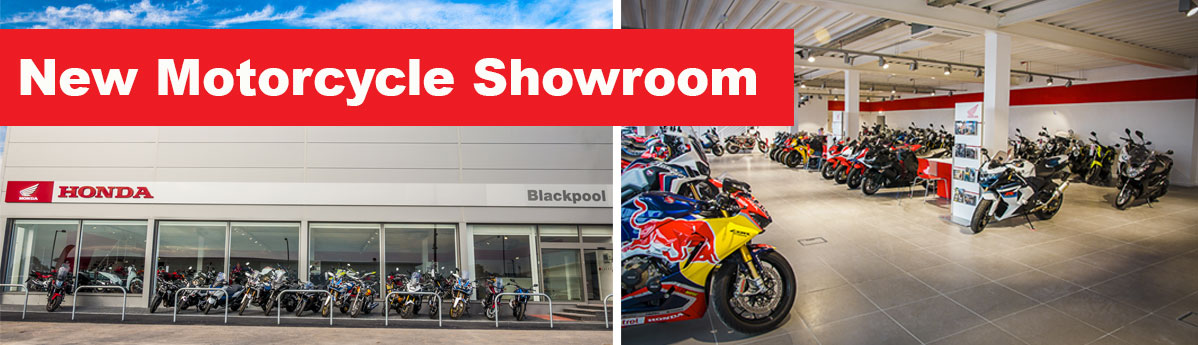 The Big One: A New £1 Million Pound Motorcycle Dealership Opens in Blackpool Banner