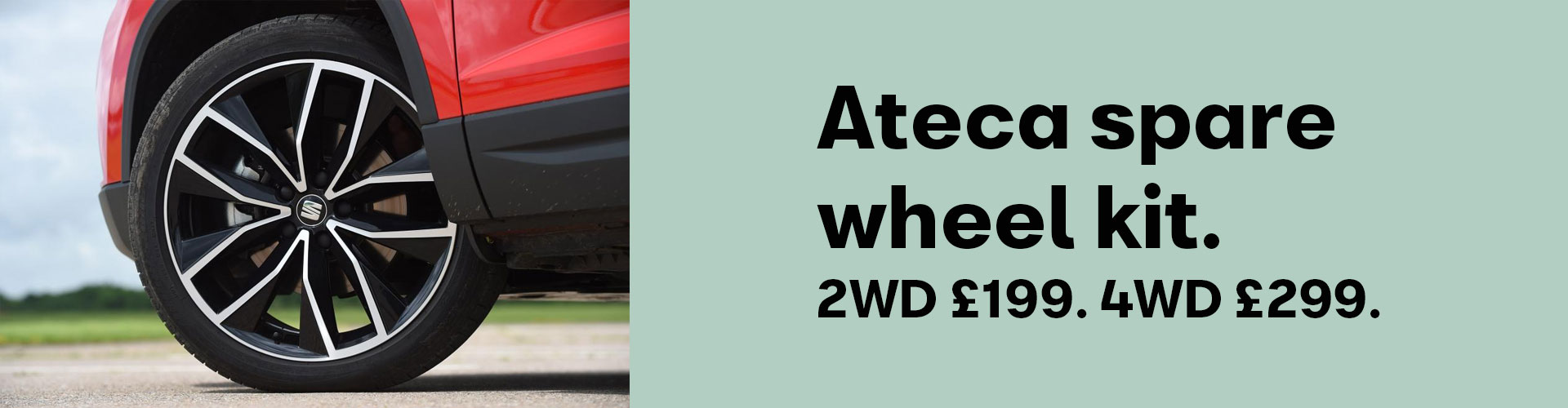 Ateca Spare Wheel - be ready for the unexpected