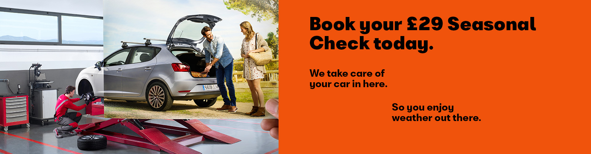 SEAT Seasonal Check - £29
