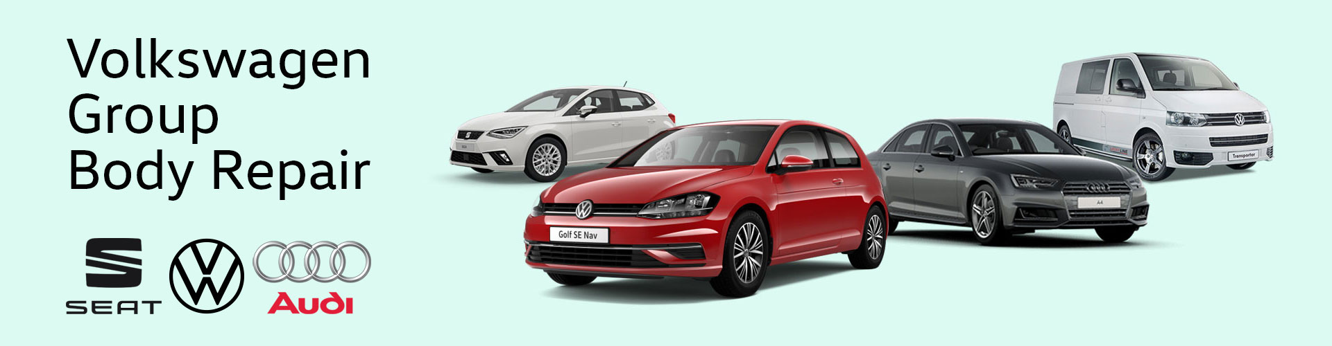 New Volkswagen Group Approved Body Repair