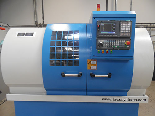 Image of the CNC Machine