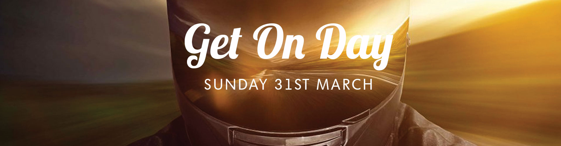 Get on day - 31st March