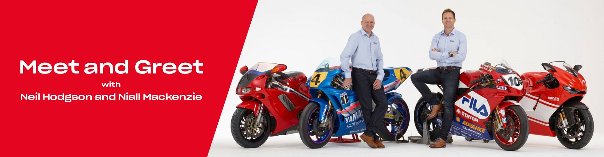 North West Honda Meet and Greet with Neil Hodgson and Niall Mackenzie