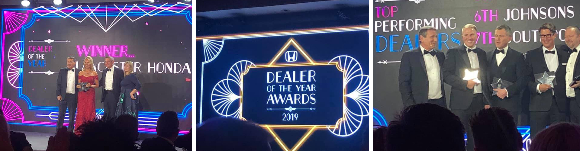 Cox Motor Group triumphs again at the Honda Dealer Awards Banner