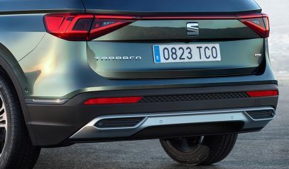 Rear of The new SEAT Tarraco