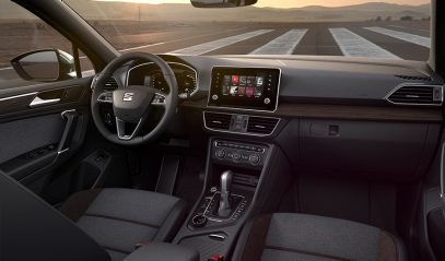 SEAT Tarraco interior shot