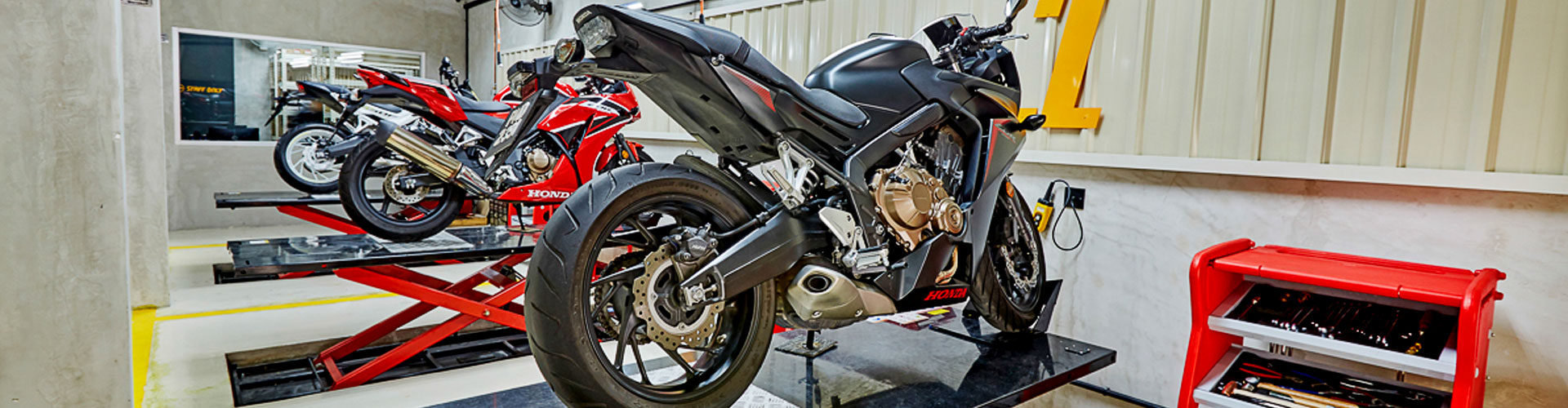 Honda Motorcycle Aftercare and Services