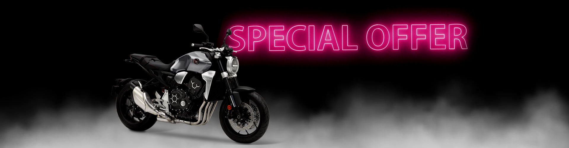 Honda motorcycle offers